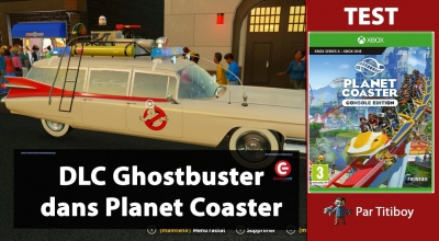 Test vidéo [TEST / DECOUVERTE] Le DLC Ghostbuster sur Planet Coaster: Console Edition !